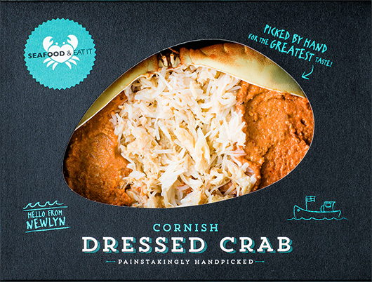 Cornish Dressed Crab Meat