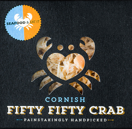 Cornish Fifty Fifty Crab Meat